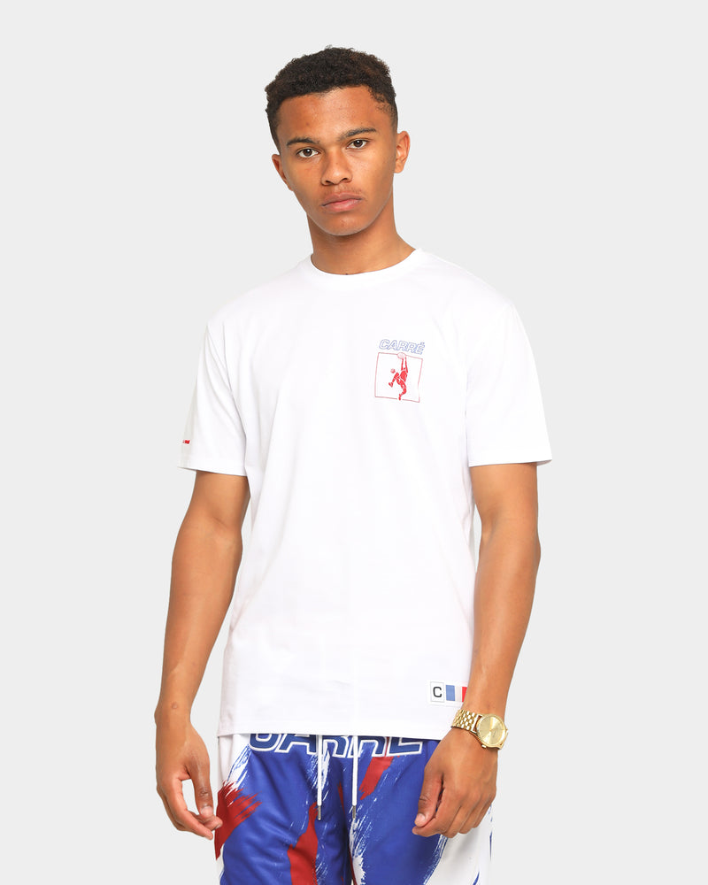 Carré Euro League Classique Short Sleeve T-Shirt White