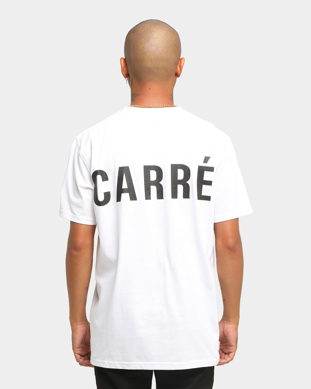 Carré Men's Represent Classique Short Sleeve T-Shirt White