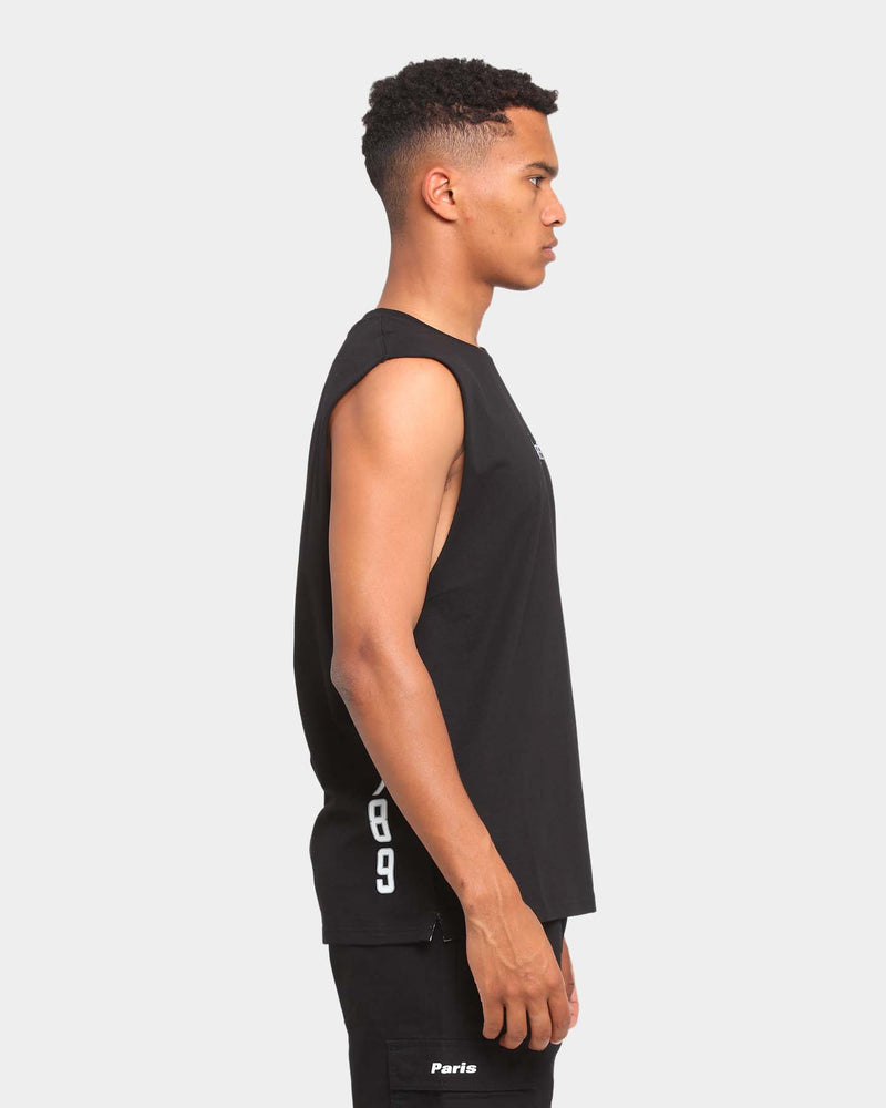 Carré Deux Muscle T-Shirt Black