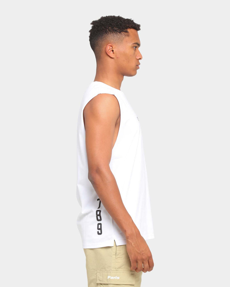 Carré Deux Muscle T-Shirt White