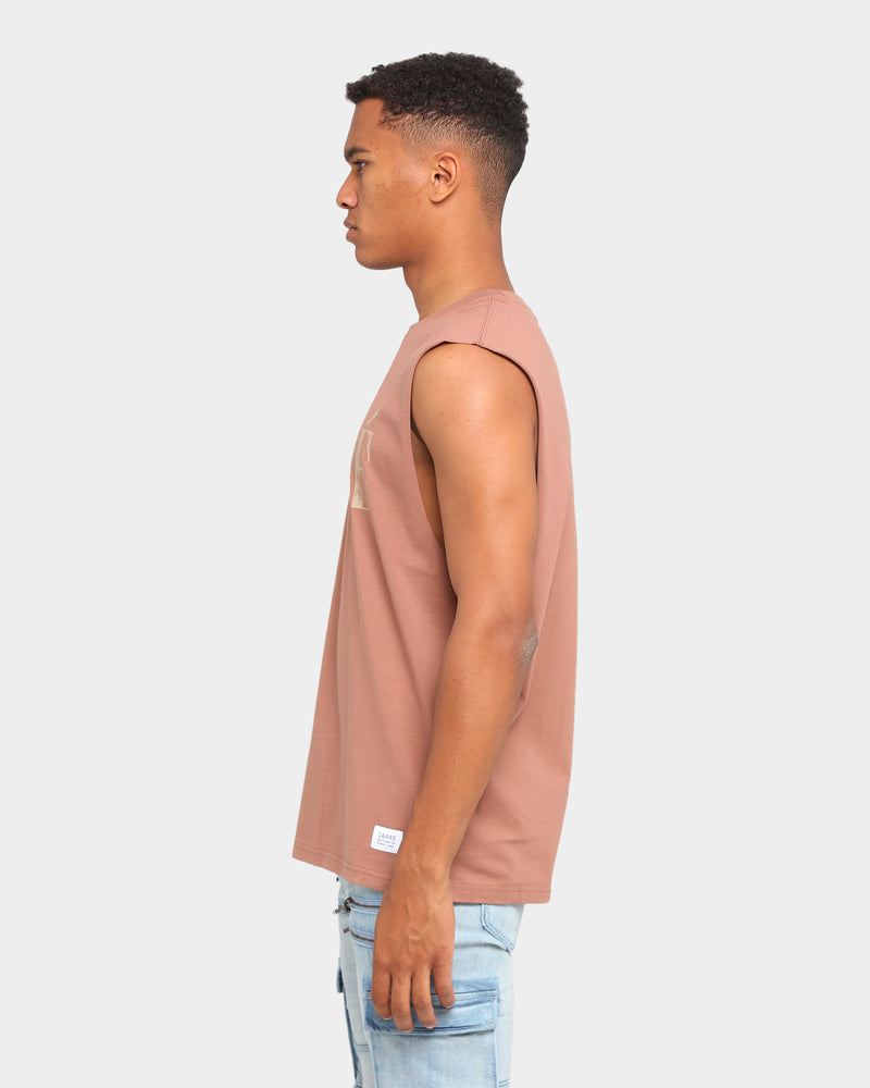 Carré Declaration Muscle T-Shirt Brown
