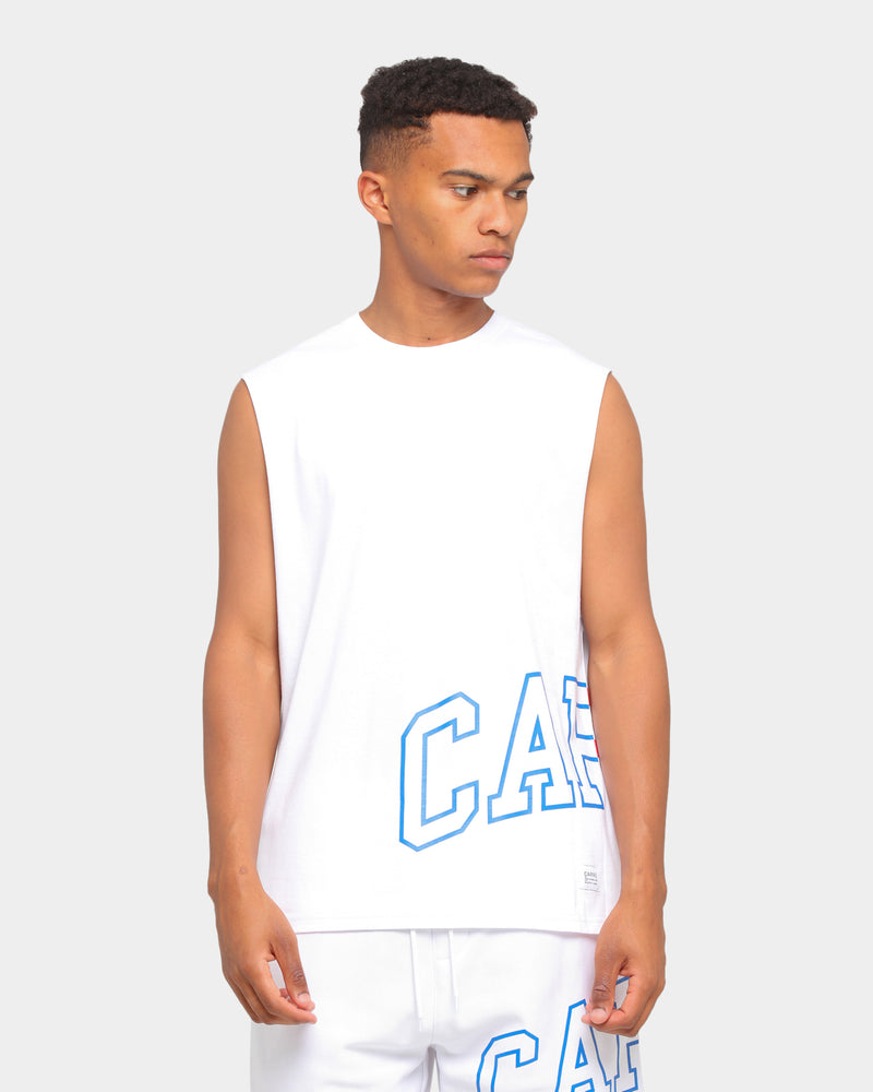Carré Enorme Classique Muscle T-Shirt White/Blue/Red