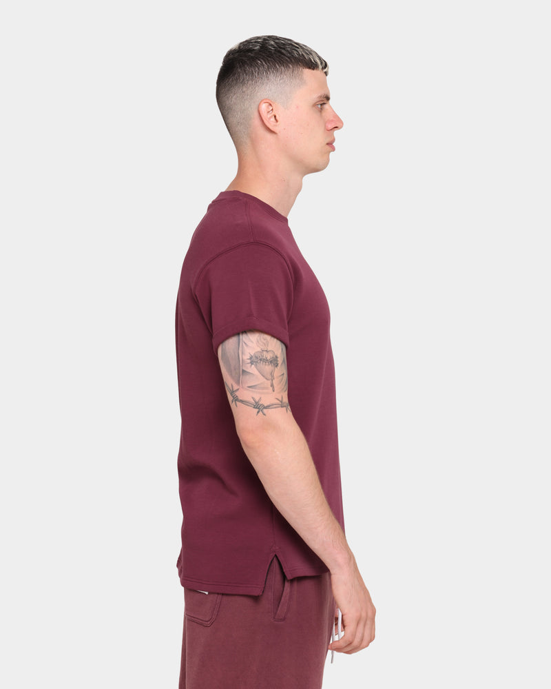 Carré Splatter Short Sleeve T-Shirt Mauve