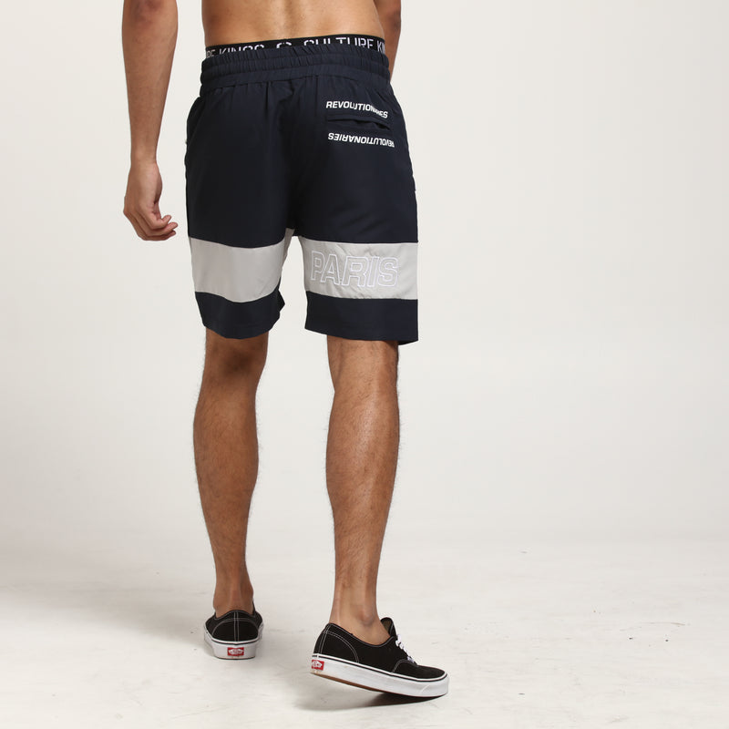 Carré Rue Track Short Navy/Grey