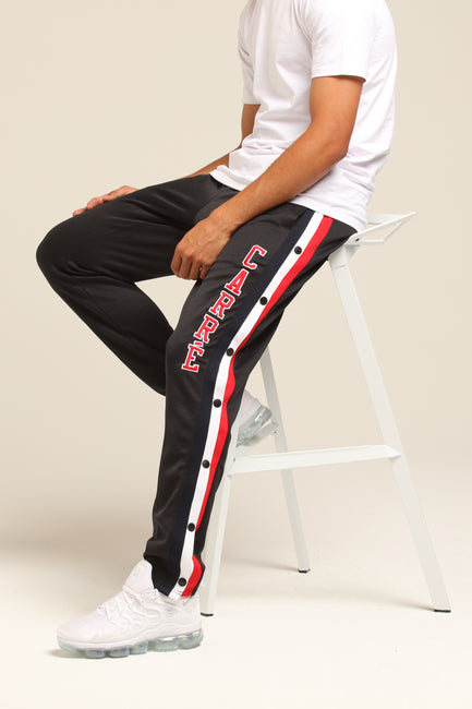 Carré Paris Pitbulls Snap Pant Black