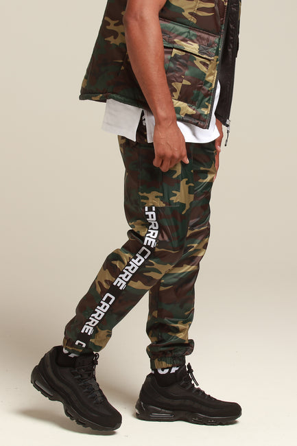 Carré Marked Cargo Trackpant Camo