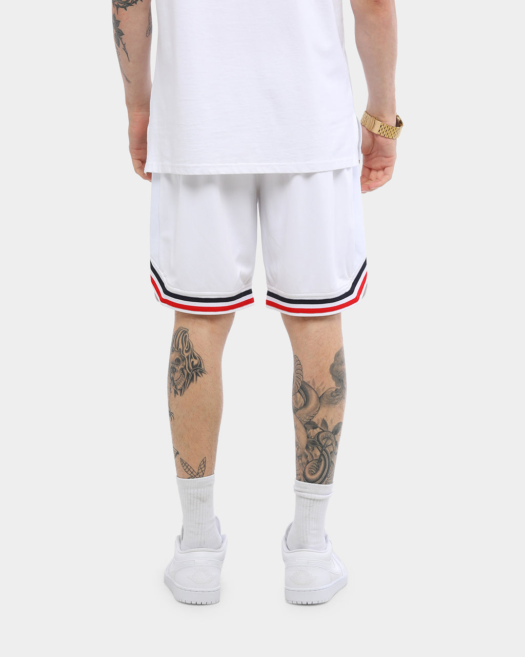 Carré Ball Shorts White