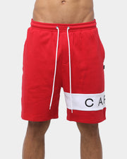 Carré Piece Short Red/White
