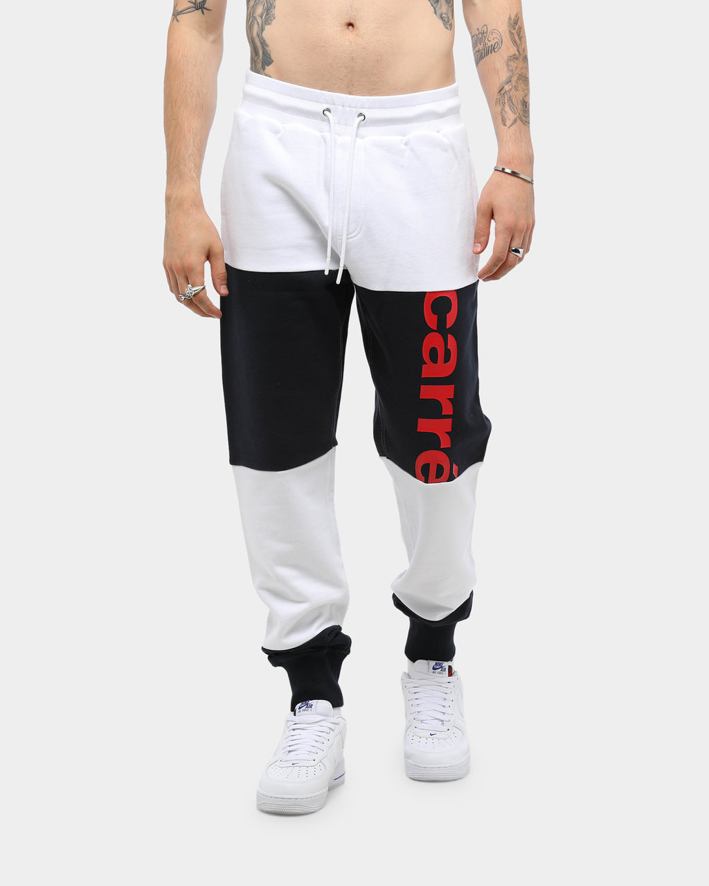 Carré Bloc A Bloc Sweat Pant White/Navy