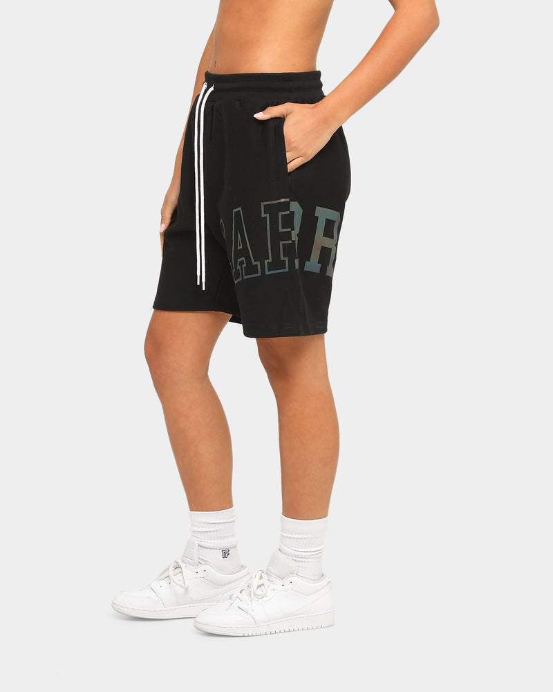 Carré Enorme Reflective Sweat Short Black/Multi-Coloured