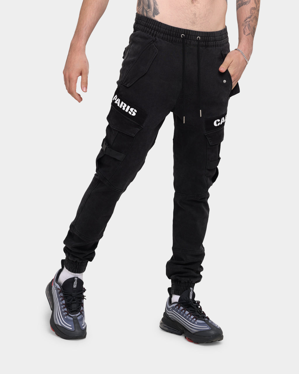 Carré Transition Cargo Jogger Washed Black