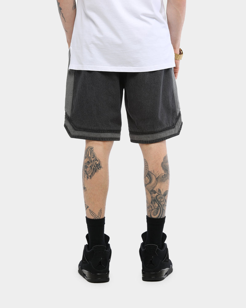Carré D-Luxe Denim Ball Short Black
