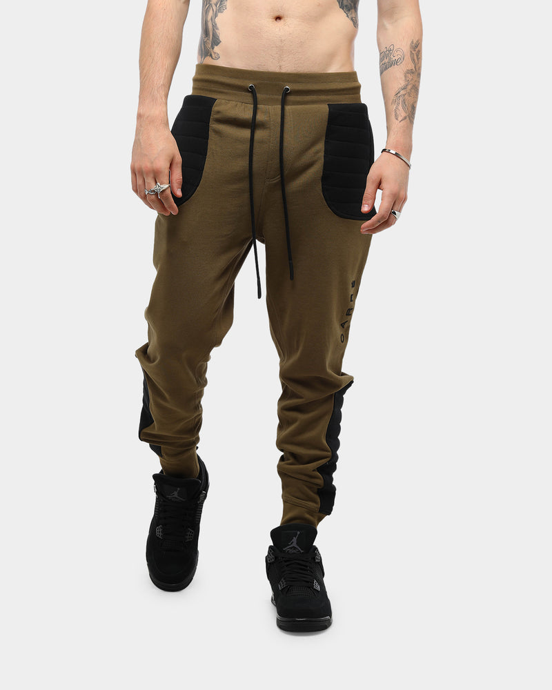 Carré Dominant Sweatpants Khaki/Black