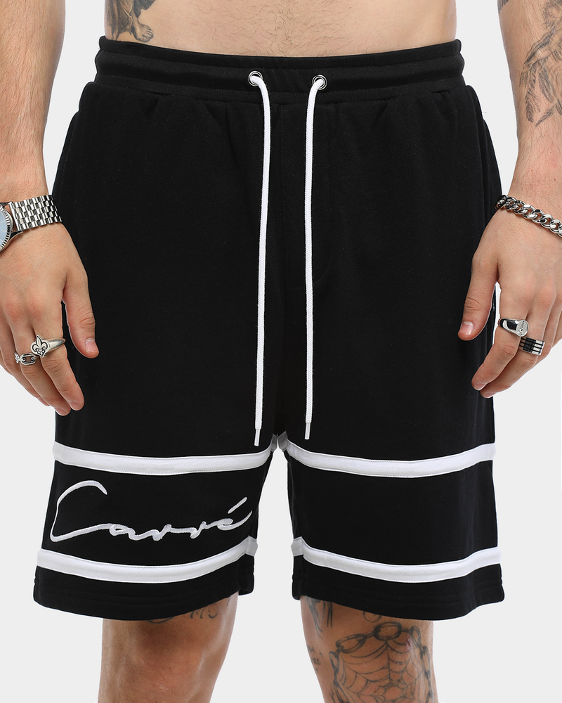 Carré Men's Scripted Fleece Short Black
