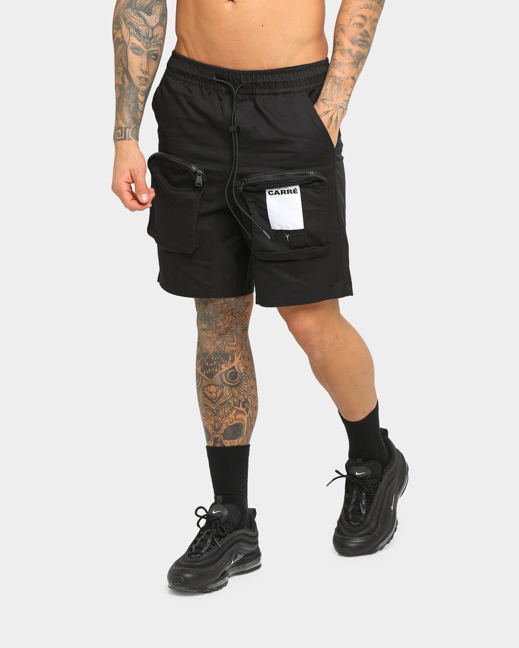 Carré Inverser Short Black