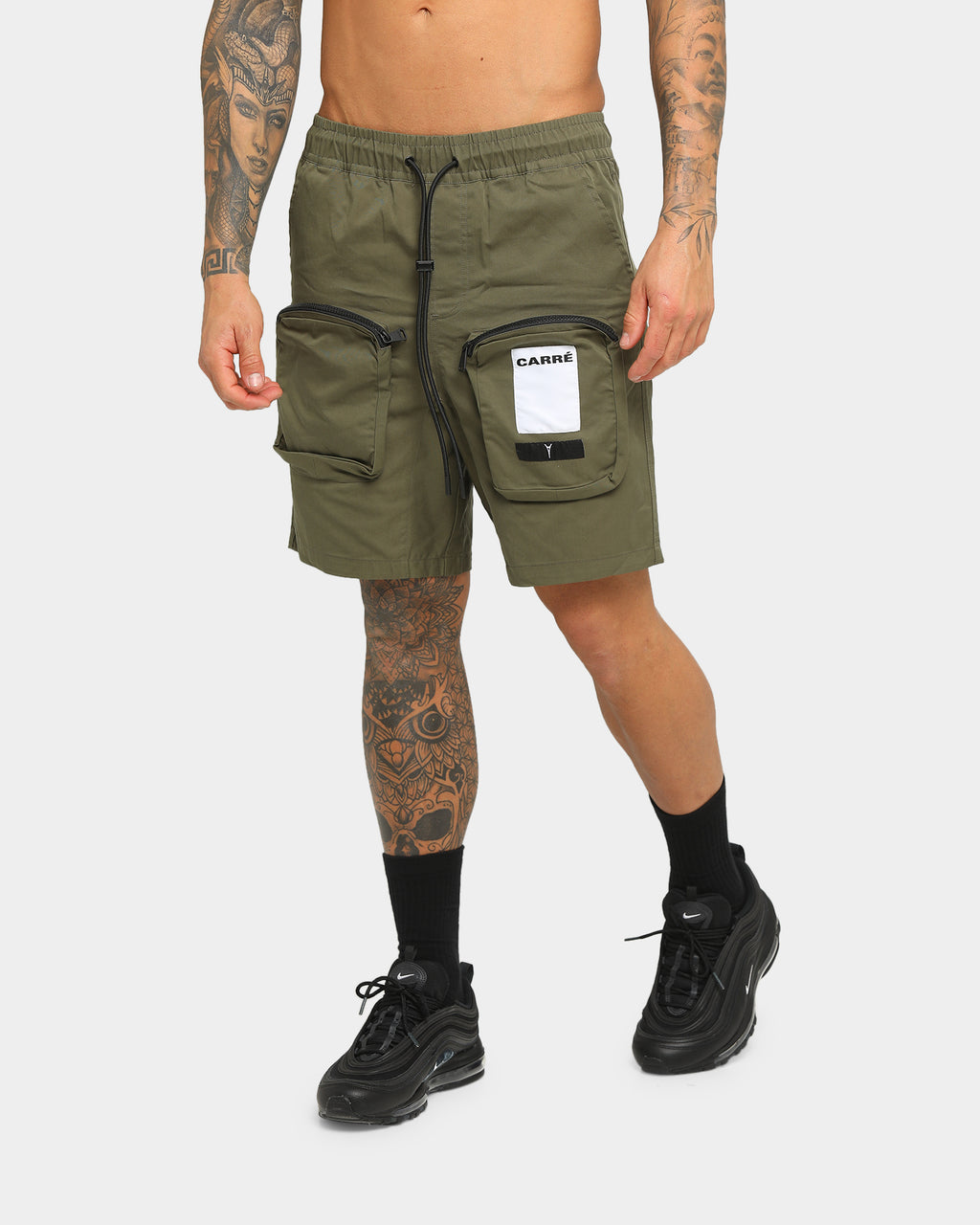 Carré Inverser Short Green