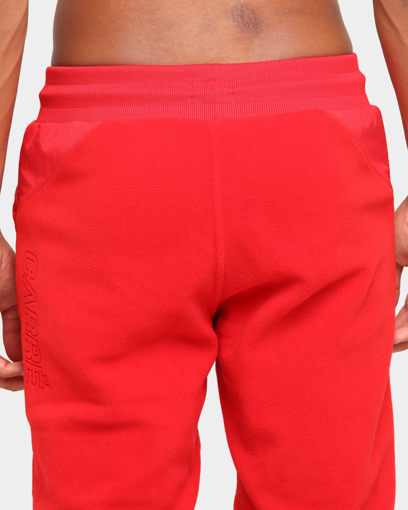 Carré Polaire Trackpants Red