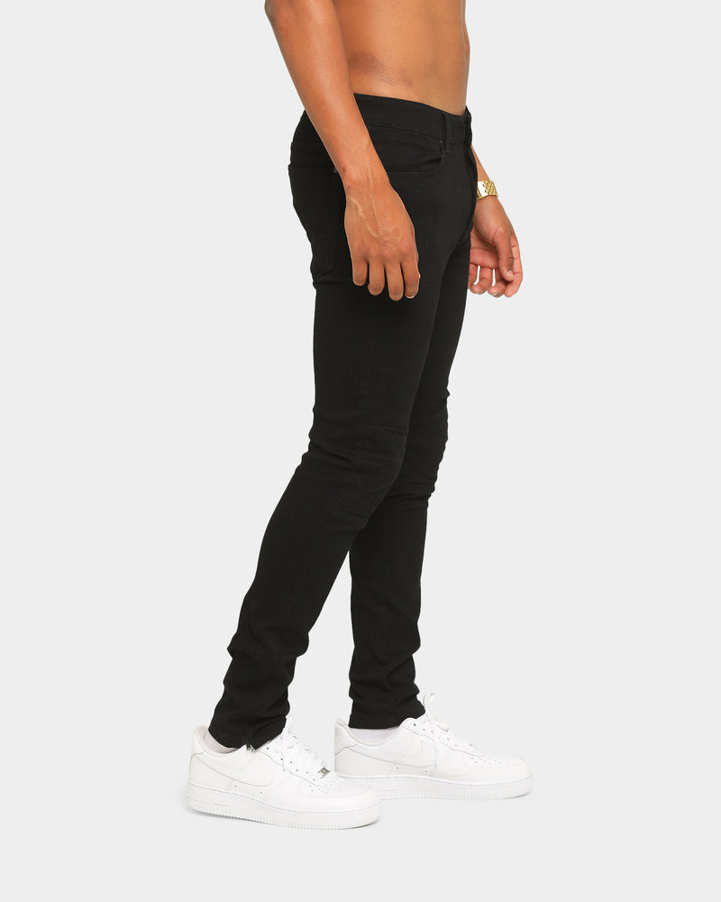 Carré Roadman Quilted Jeans Black