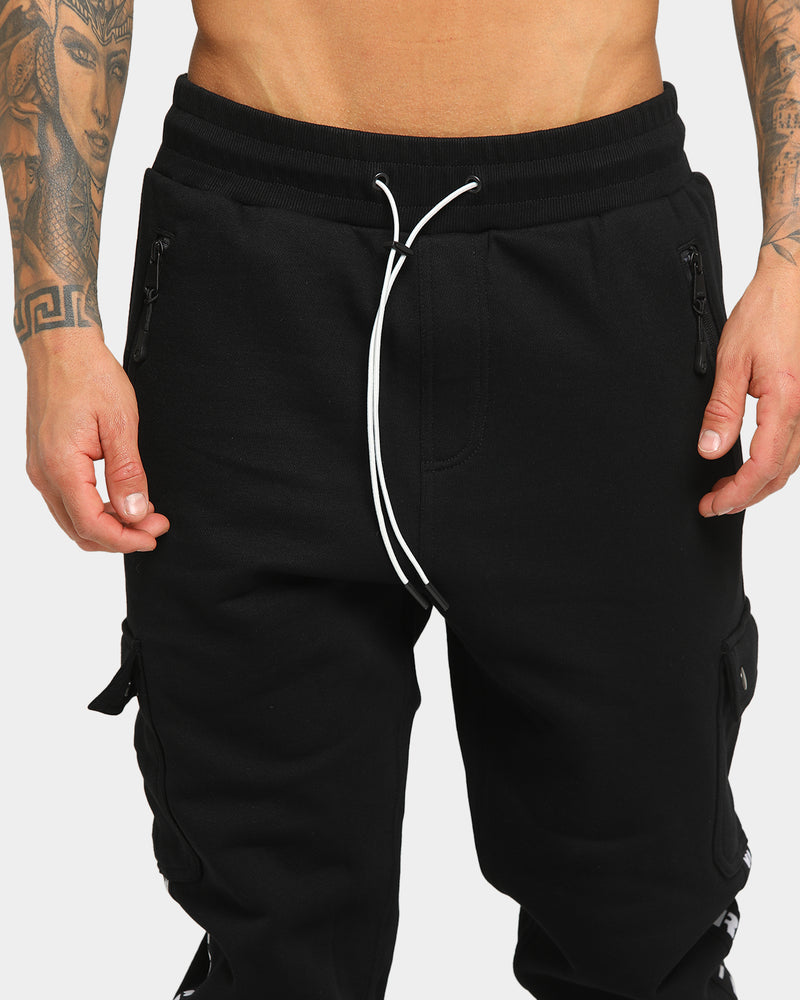 Carré Captain Cargo Trackpant Black