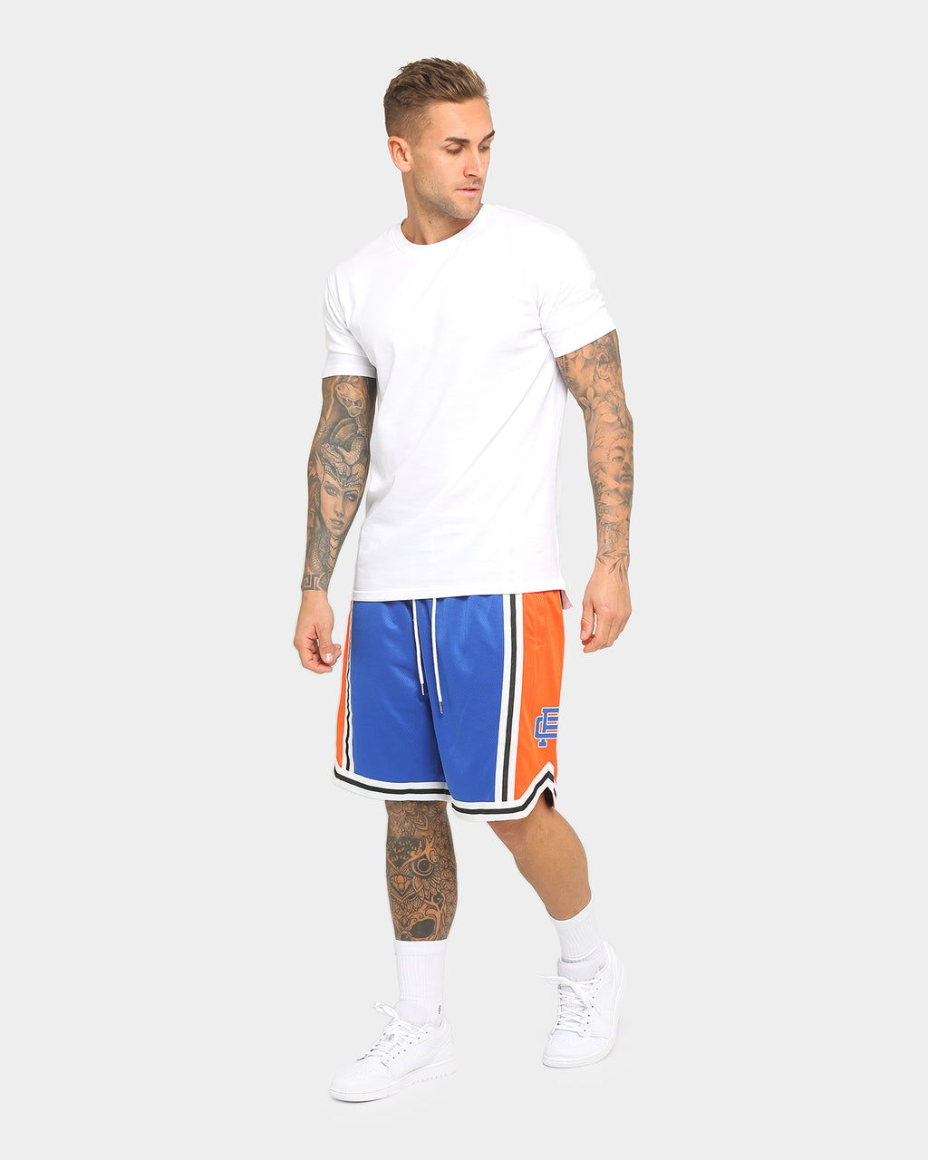 Carré Mono Ball Shorts Blue/Orange