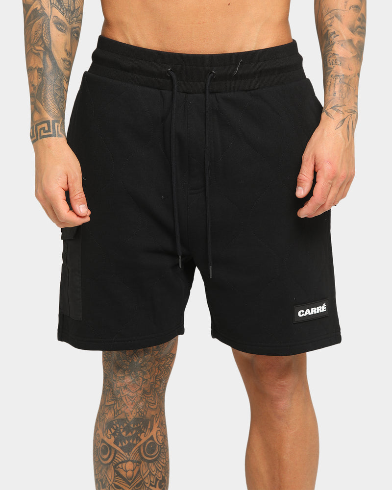 Carré Roadman Quilted Shorts Black