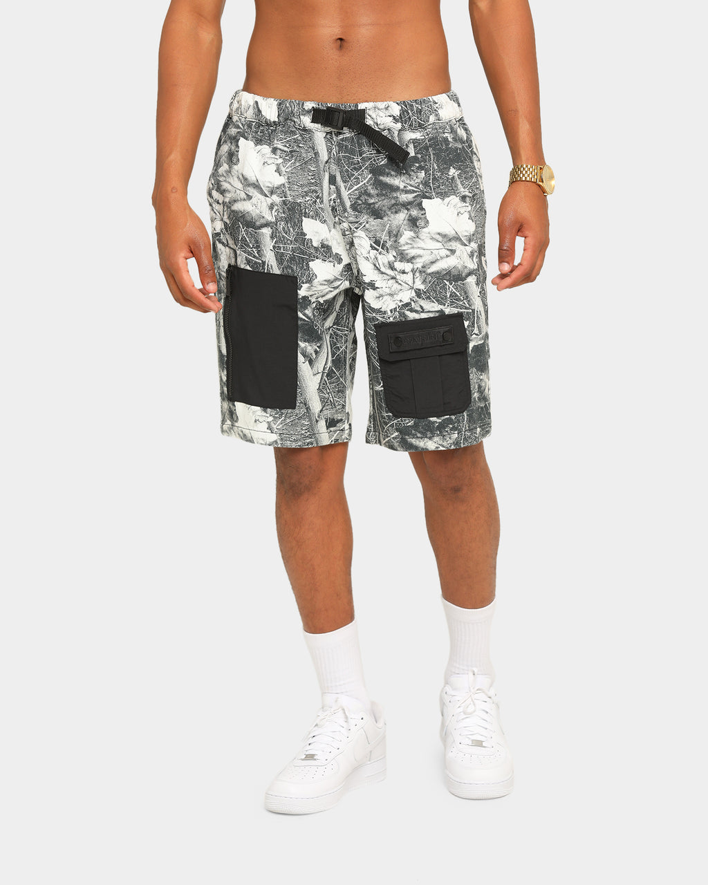 Carré Forest Cargo Shorts Black Forest