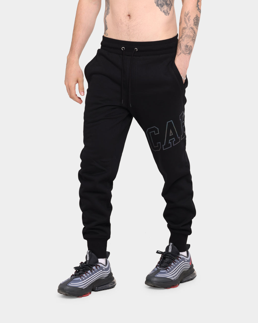 Carré Men's Enorme Reflective Sweatpant Black/3M Reflective