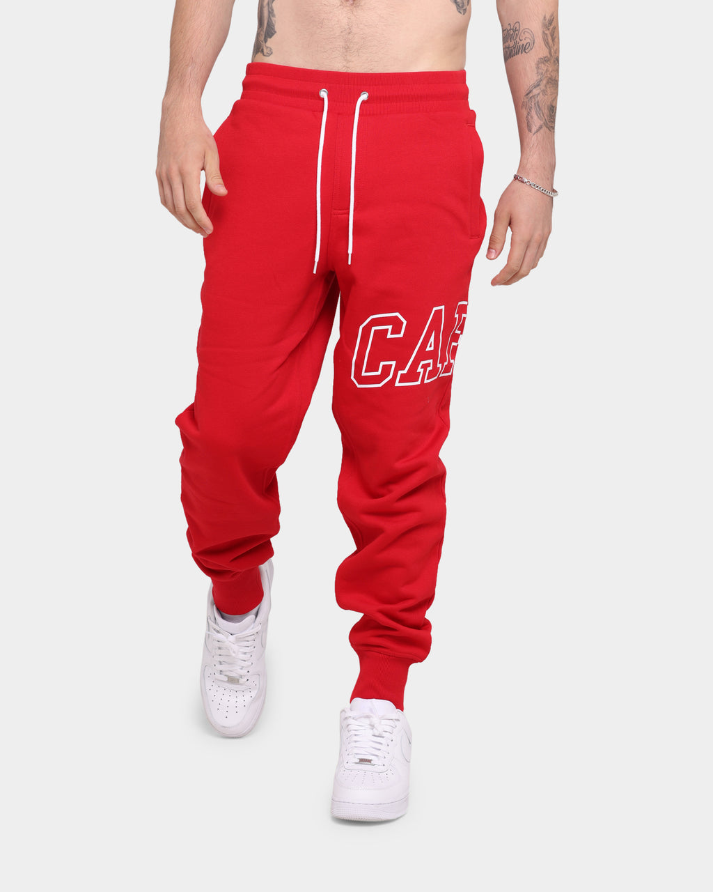 Carré Enorme Sweatpants Red