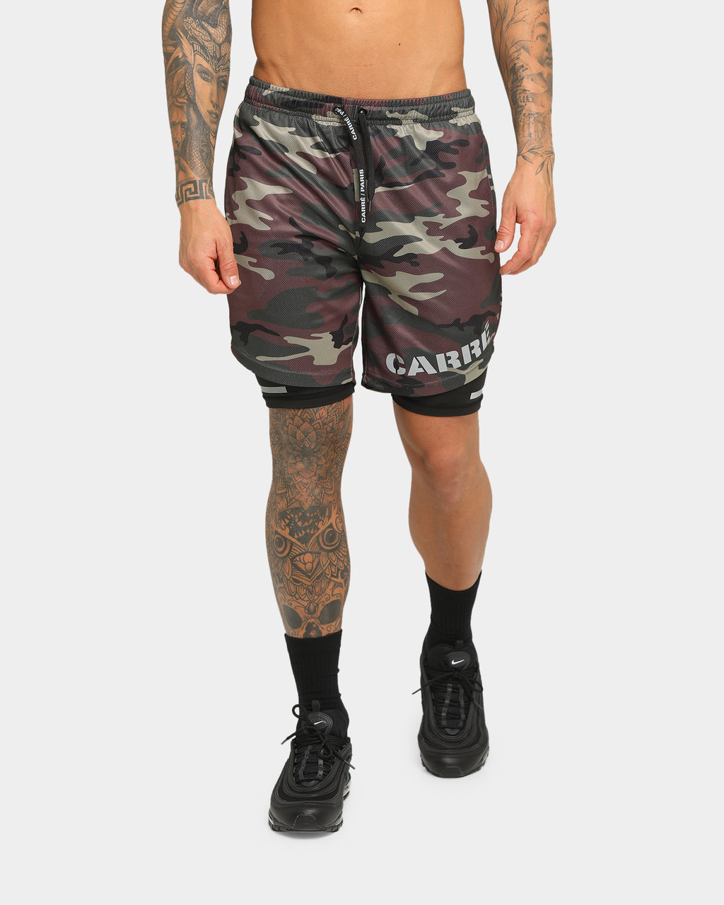 Carré Momentum Active Short Camo/Black