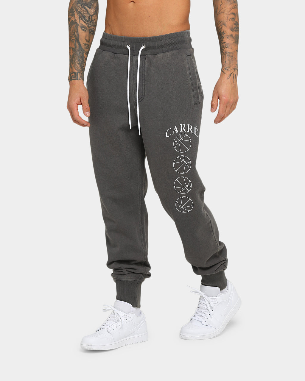 Carré Hoop Dreams Trackpant Grey/White