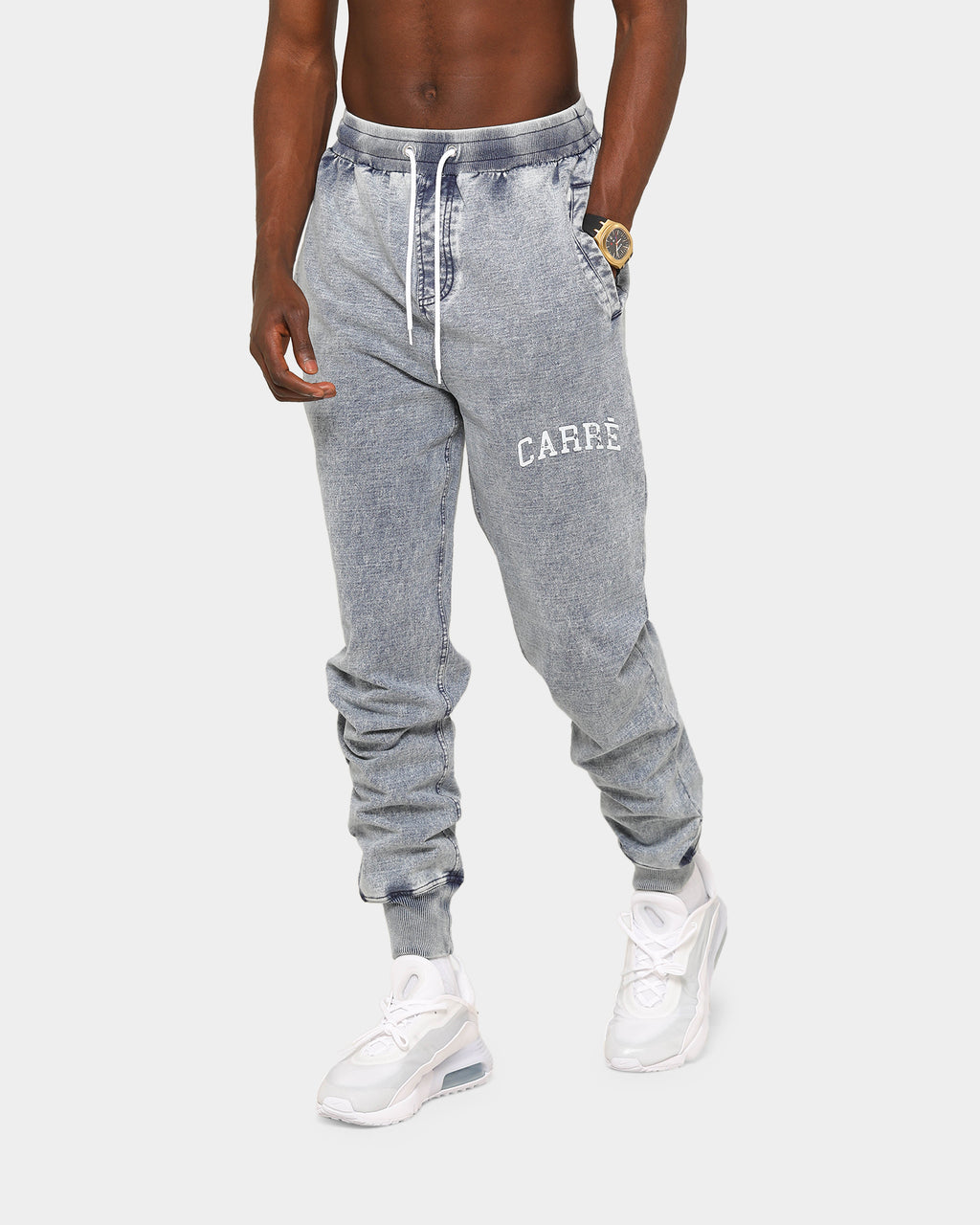 Carré Encre Trackpants Vintage Blue