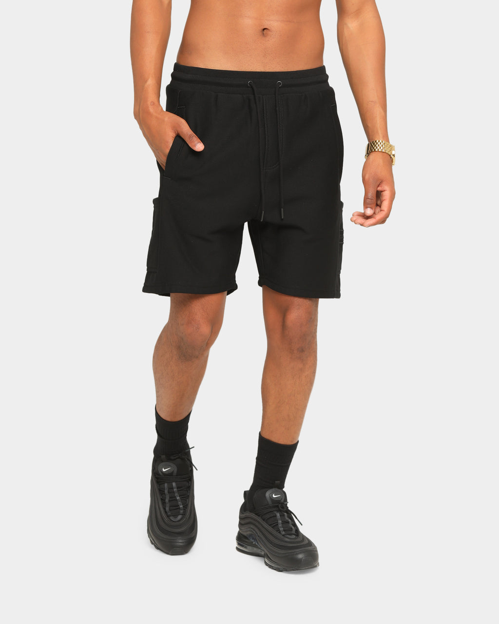 Carré Commando Shorts Black