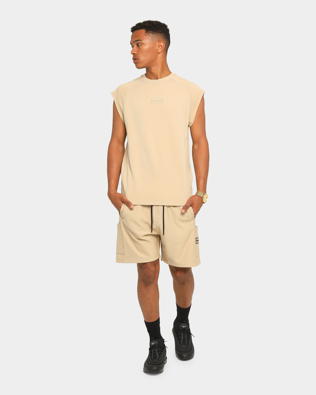Carré Commando Shorts Stone