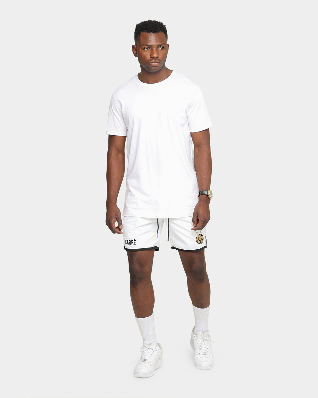 Carré Men's Deux Shorts White/Black