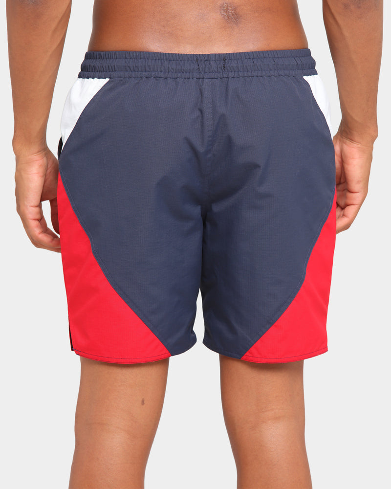 Carré Objectif Shorts Navy/White/Red