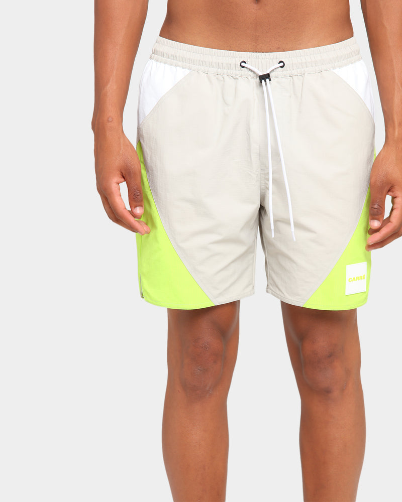 Carré Objectif Shorts Grey/Green