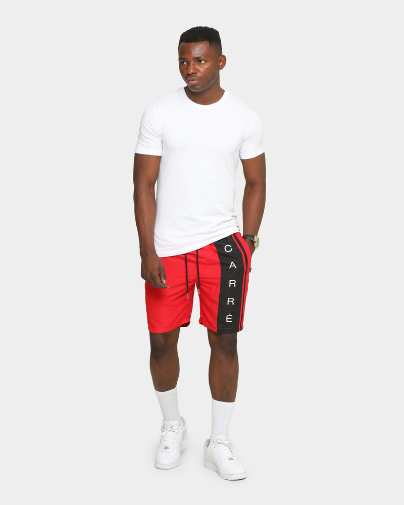 Carré Men's Side Piece Track Short Red/Black