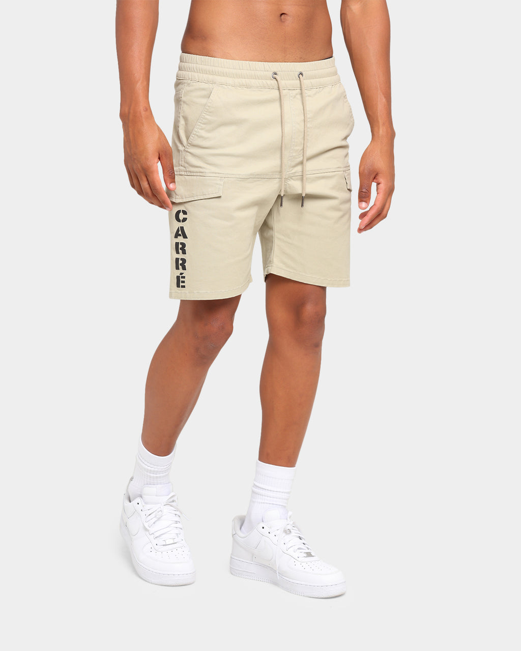 Carré Sommet Cargo Shorts Stone