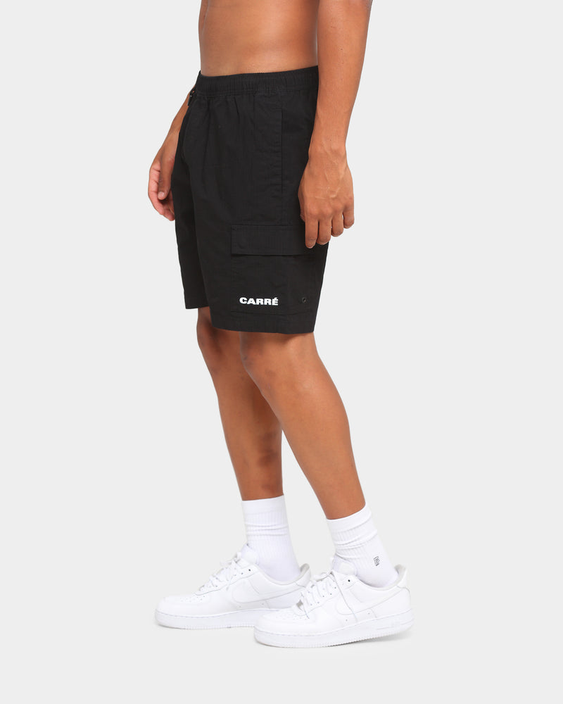 Carré Combiner Cargo Shorts Black