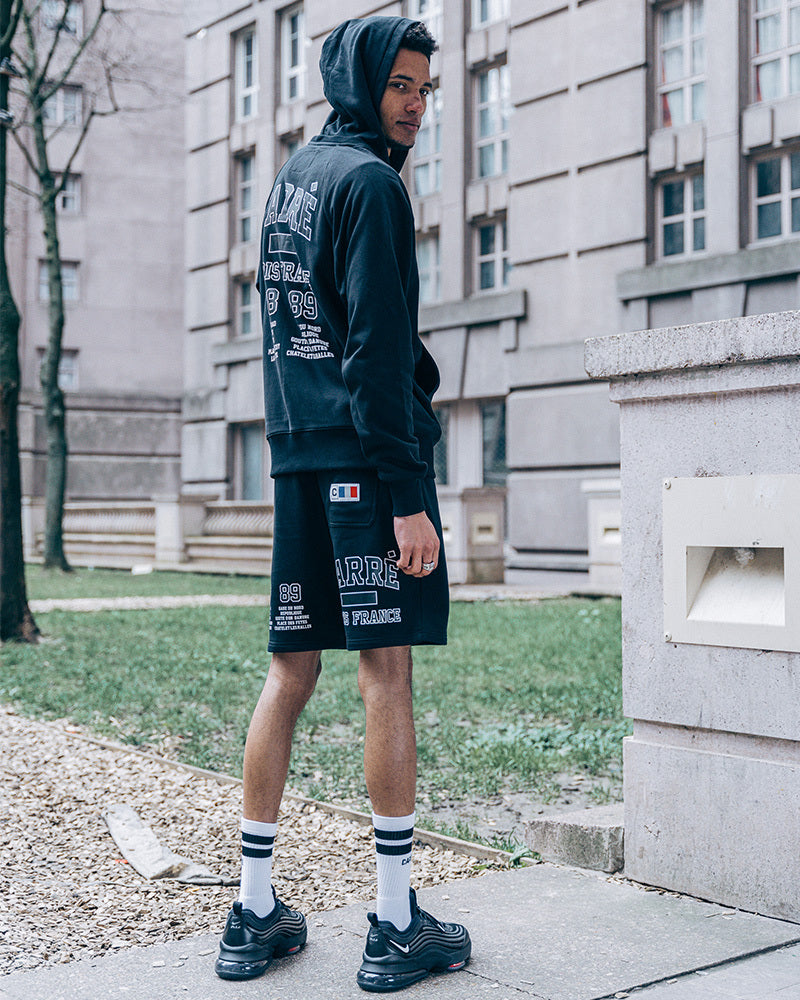 Carré CDG Sweat Short Black