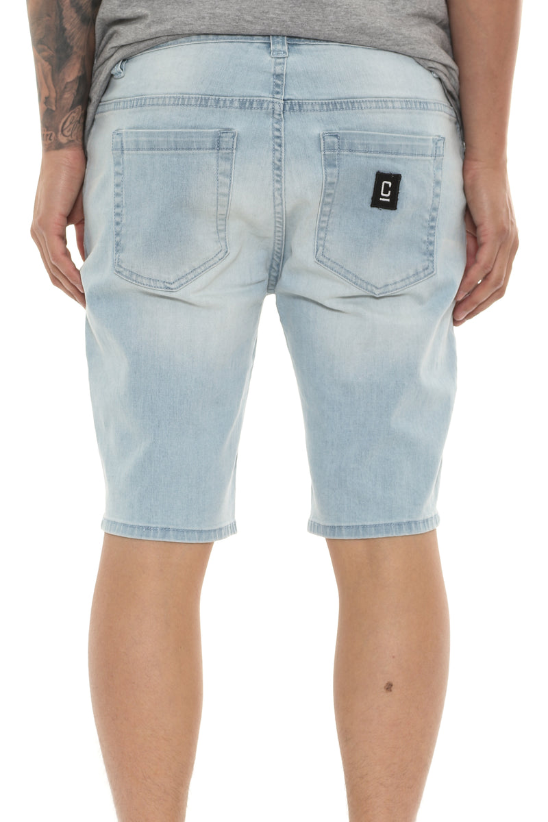 Carré Courant Short Light Blue Wash