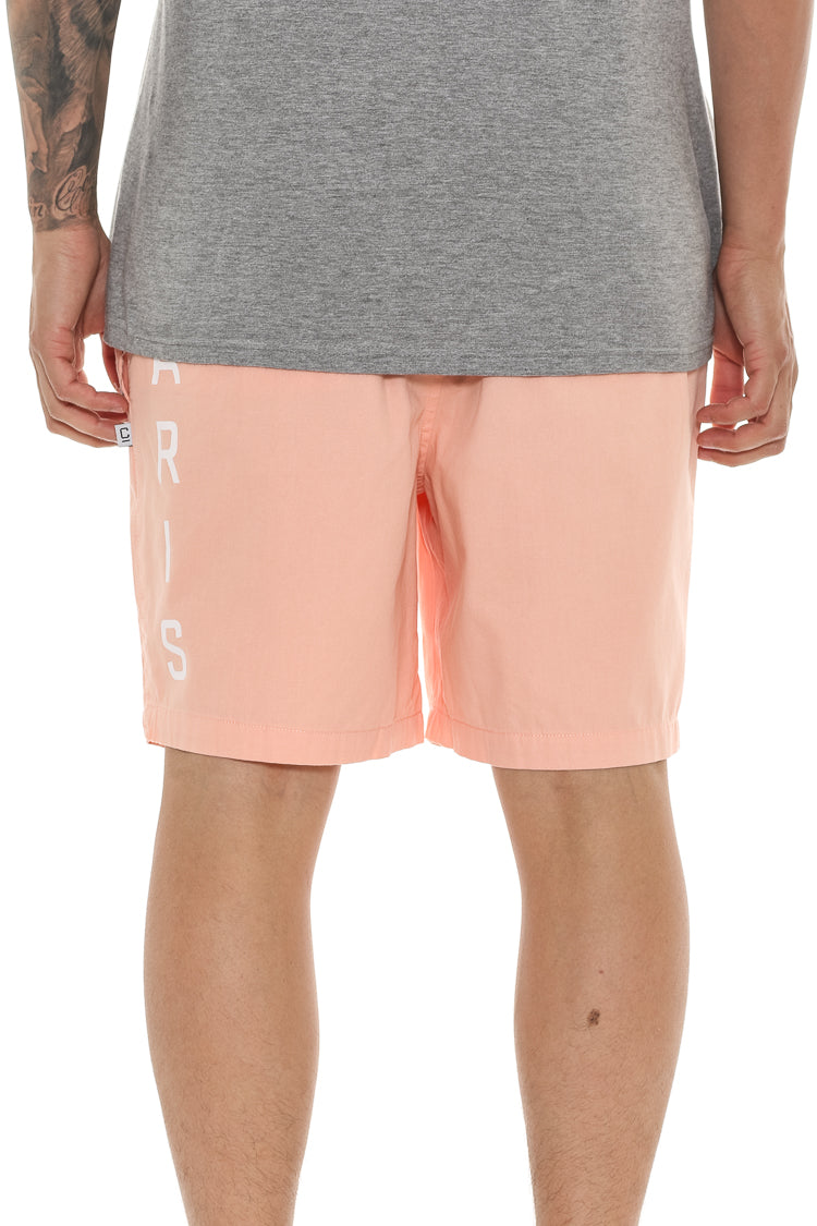 Carré Longitude Slide Short Peach