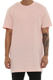 Carre Napoleon 2 SS Tee Peach/offwhite