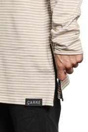 Carré Napoleon 2 Long Sleeve Tee Stone/white