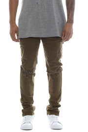 Carré Ruff Slim Jeans Olive
