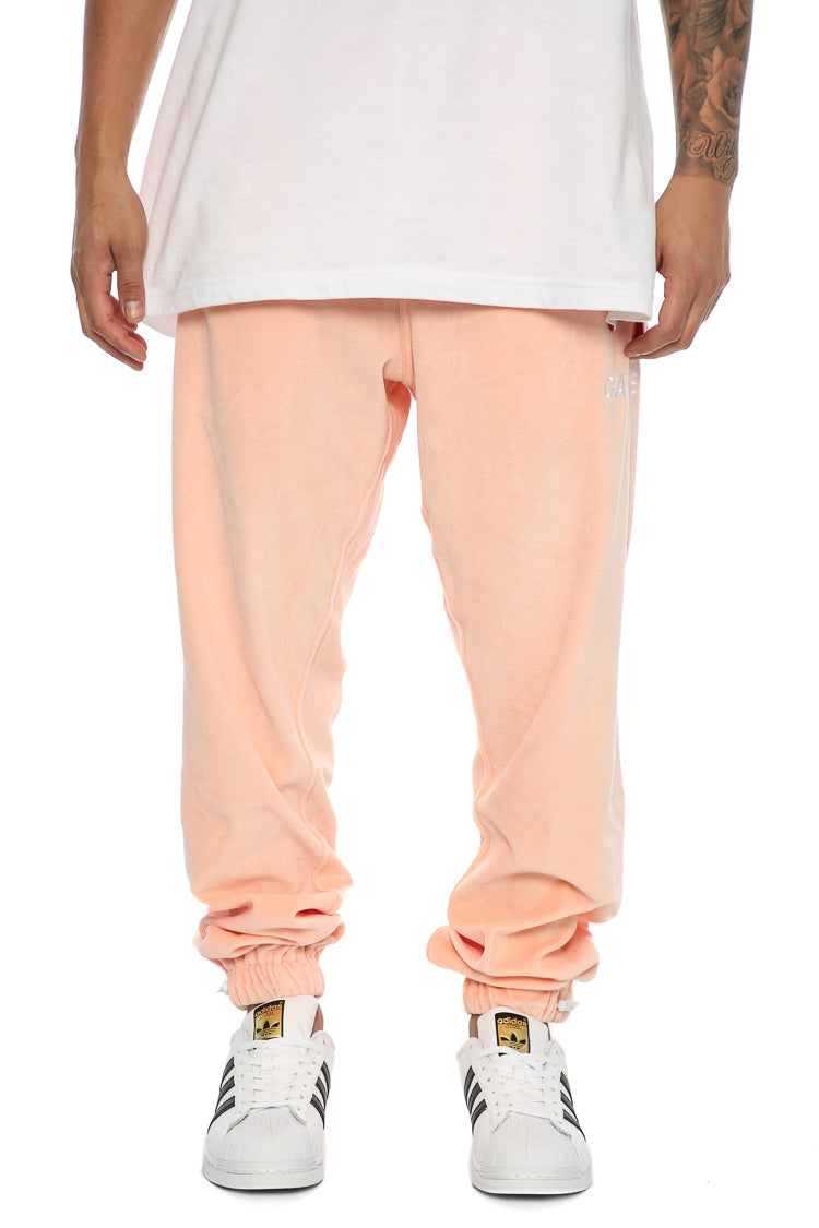 Carré Douillet Track Pants Peach