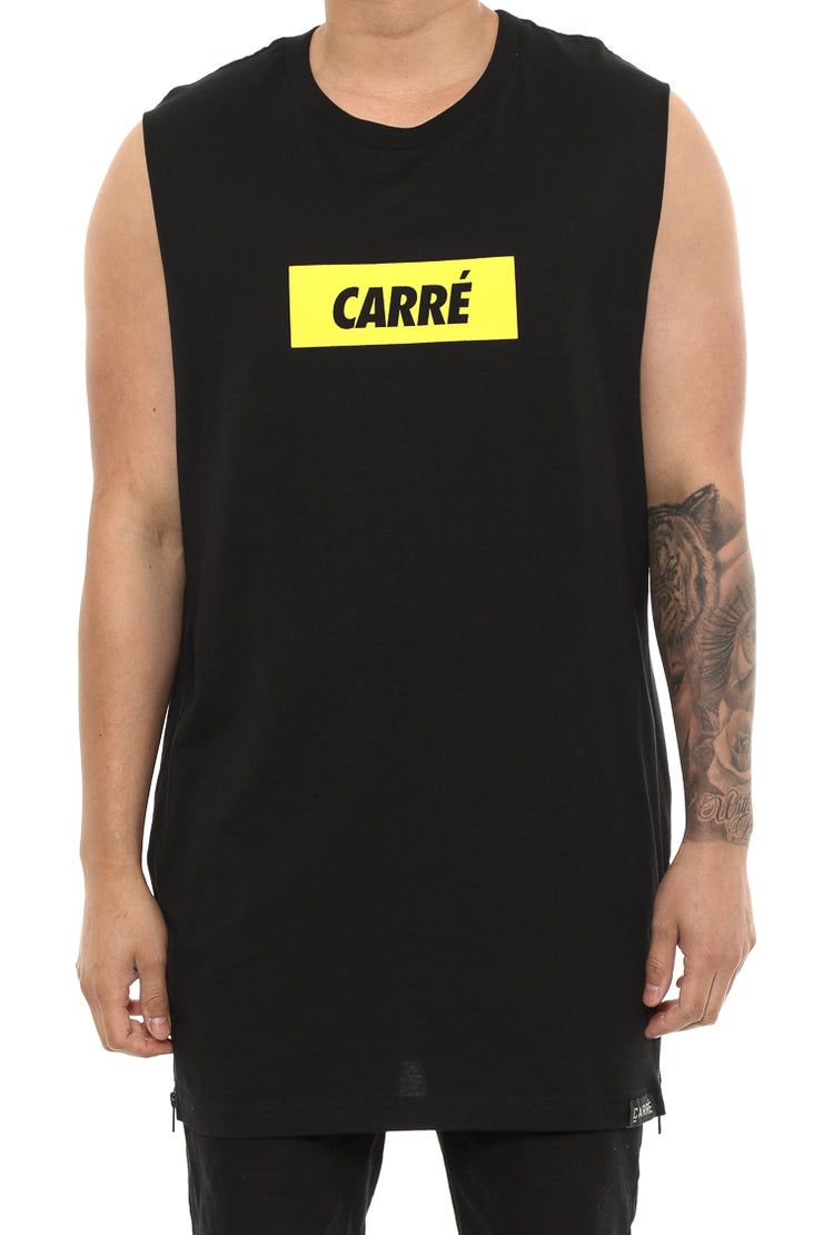 Carré incline Capone 2 Muscle Tee Black