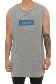 Carré incline Capone 2 Muscle Tee Grey