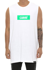 Carré incline Capone 2 Muscle Tee White