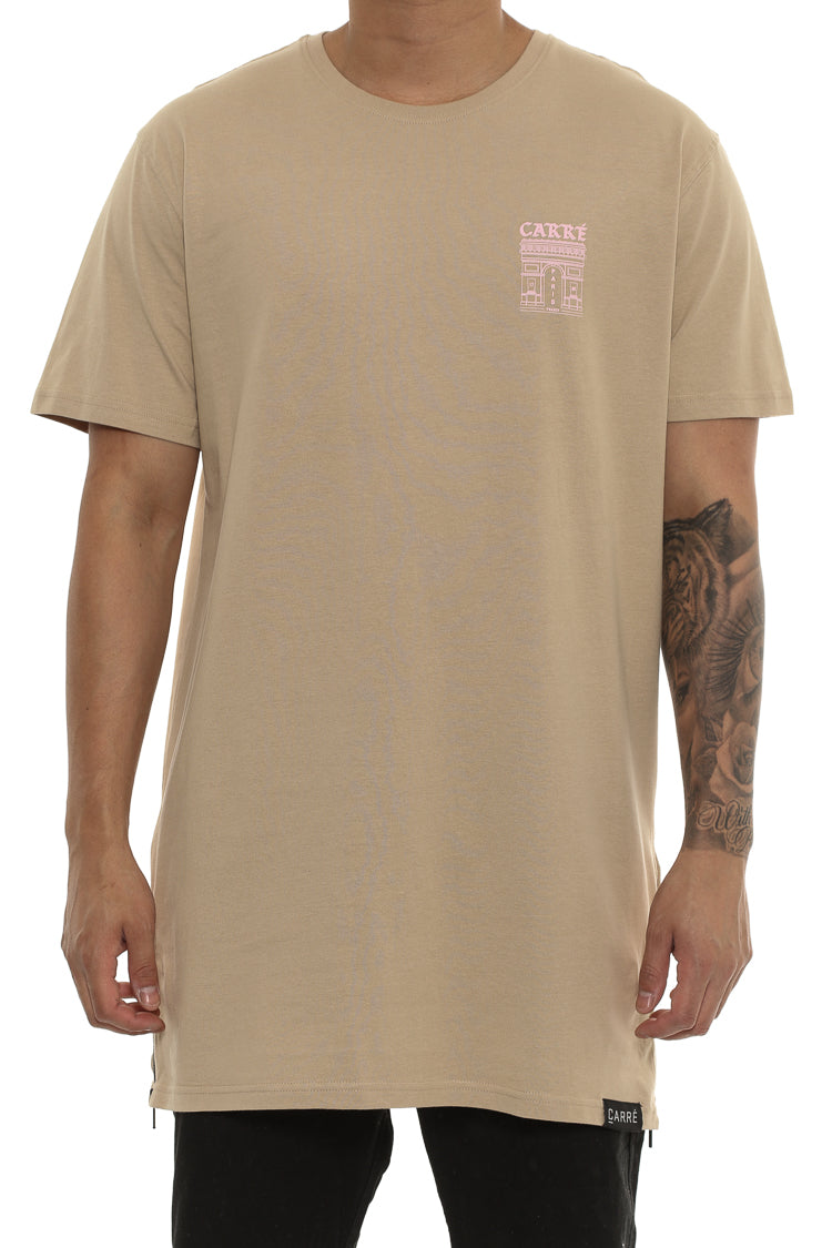 Carré Arc Capone Short Sleeve Tee Stone